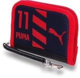 プーマ PUMA ファンダメンタルズ J ラウンドジップ ウォレット No,074916 (02-ネイビー)