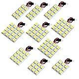 【断トツ354発!!】 100系 ハイエース スーパーカスタムLTD LED ルームランプ 10点セット [H5.8~H16.7] トヨタ 基板タイプ 圧倒的な発光数 3chip SMD LED 仕様 室内灯 カー用品 HJO