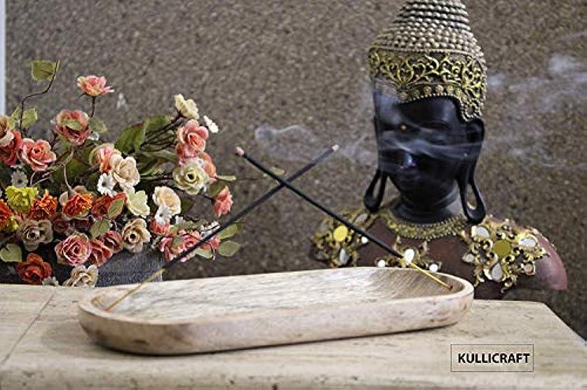 出血記念日ちなみにKullicraft Handcrafted Marble Soapstone Agarbaati Stands Incense Holder (Free 6 Incense Sticks Rose Fragnance)...