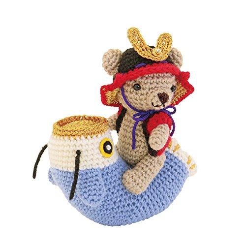 オリムパス製絲 編み物キット こどもの日 くまと鯉のぼりの端午の節句 MK69