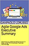 """Agile Google Ads Executive Summary: Maximize your AdWords Performance in 3 Steps using """"PPC CheckMate"""" Patented Methodology (English Edition)"""