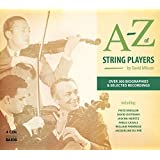 A TO Z ストリング・プレイヤーズ(A TO Z OF STRING PLAYERS)[4CDs]