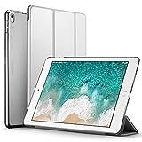 ESR iPad 10.5インチ 2017 ケース 超軽量 極薄 半透明 レザー 三つ折スタンド オートスリープ機能 スマートカバー 新しいApple iPad 10.5インチ 2017最新版専用 全5色 (グレー)