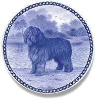 デンマーク製 ドッグ・プレート (犬の絵皿) 直輸入! Spanish Water Dog / スパニッシュ・ウォーター・ドッグ