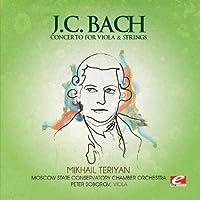 J.C. Bach: Concerto for Viola & Strings (Digitally Remastered) by Johann Christian Bach (2013-05-03)