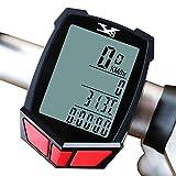 サイクルコンピューター ALLROADS 高機能 計測 タッチLCD サイクルコンピューター 防滴仕様スピード計 スピードメーター、走行時間・走行距離計測マイル/キロ表示選択可能 バックライト内蔵 大画面表示 自転車用