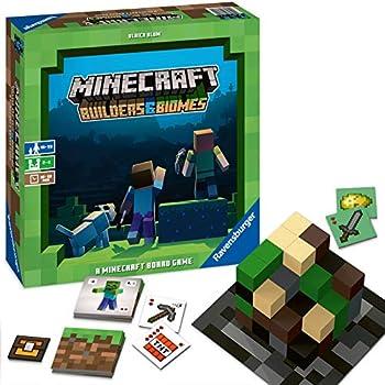 Ravensburger Minecraft: ビルダーズ&バイオーム ストラテジー ボードゲーム 対象年齢10歳以上 - Amazon限定