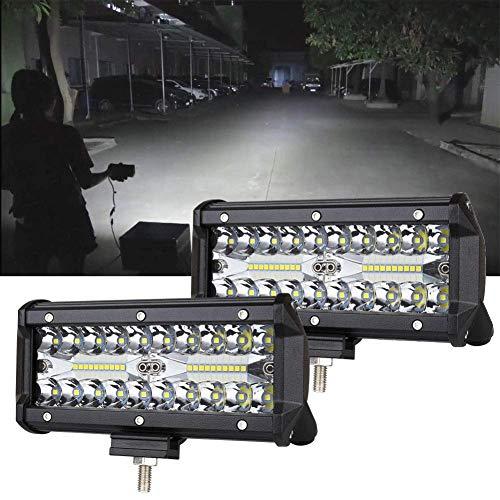 LED作業灯 デッキライト LED ワークライト 防水 投光器 240w 投光器 12v-24v 兼用 防水 防塵 防震 取付け自由 省エネルギー バックライト 各種作業車に対応 吉普 SUV ATV UTV 2個セット 集魚灯 前照灯