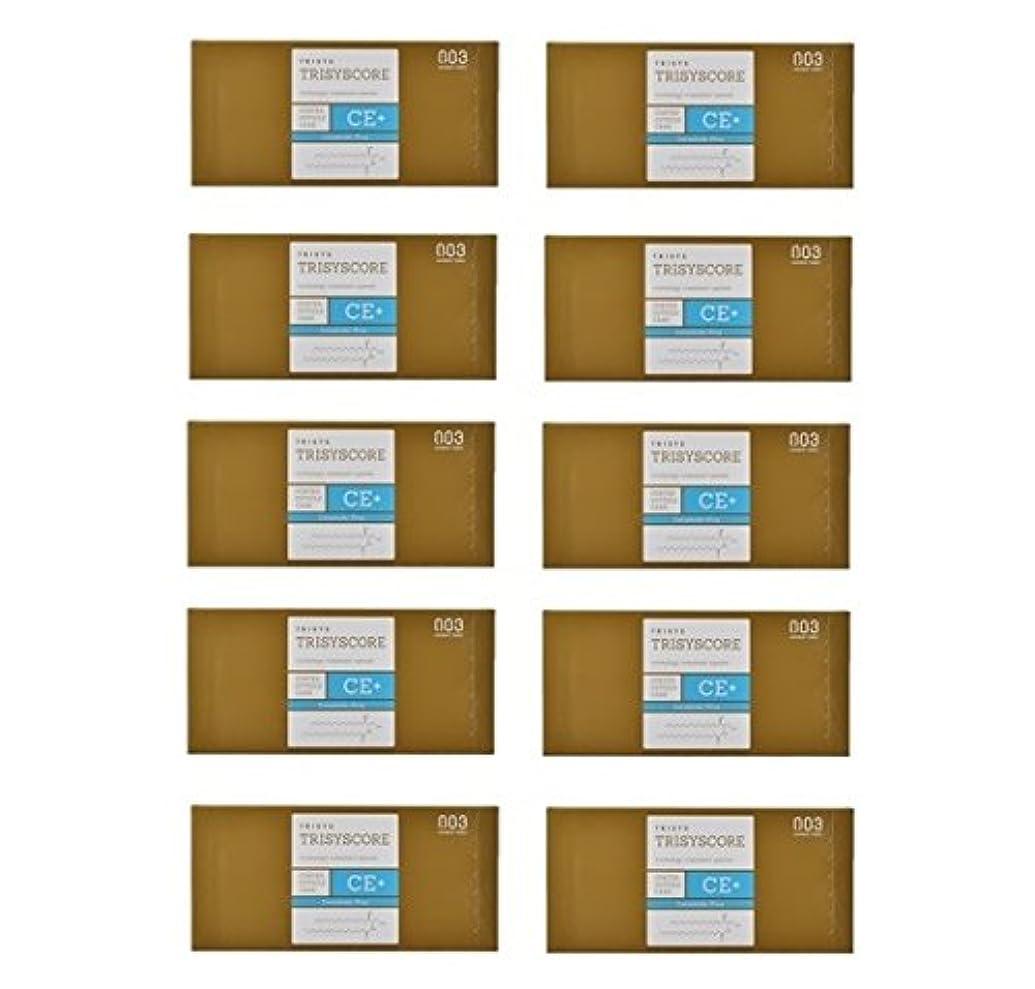 放つ地理政策【X10個セット】ナンバースリー トリシスコア CEプラス (ヘアトリートメント) 12g × 4包入り
