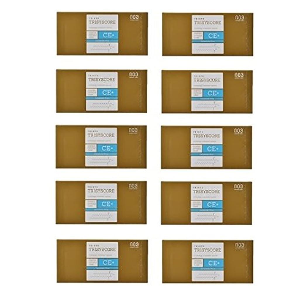出席トロリーバス迅速【X10個セット】ナンバースリー トリシスコア CEプラス (ヘアトリートメント) 12g × 4包入り