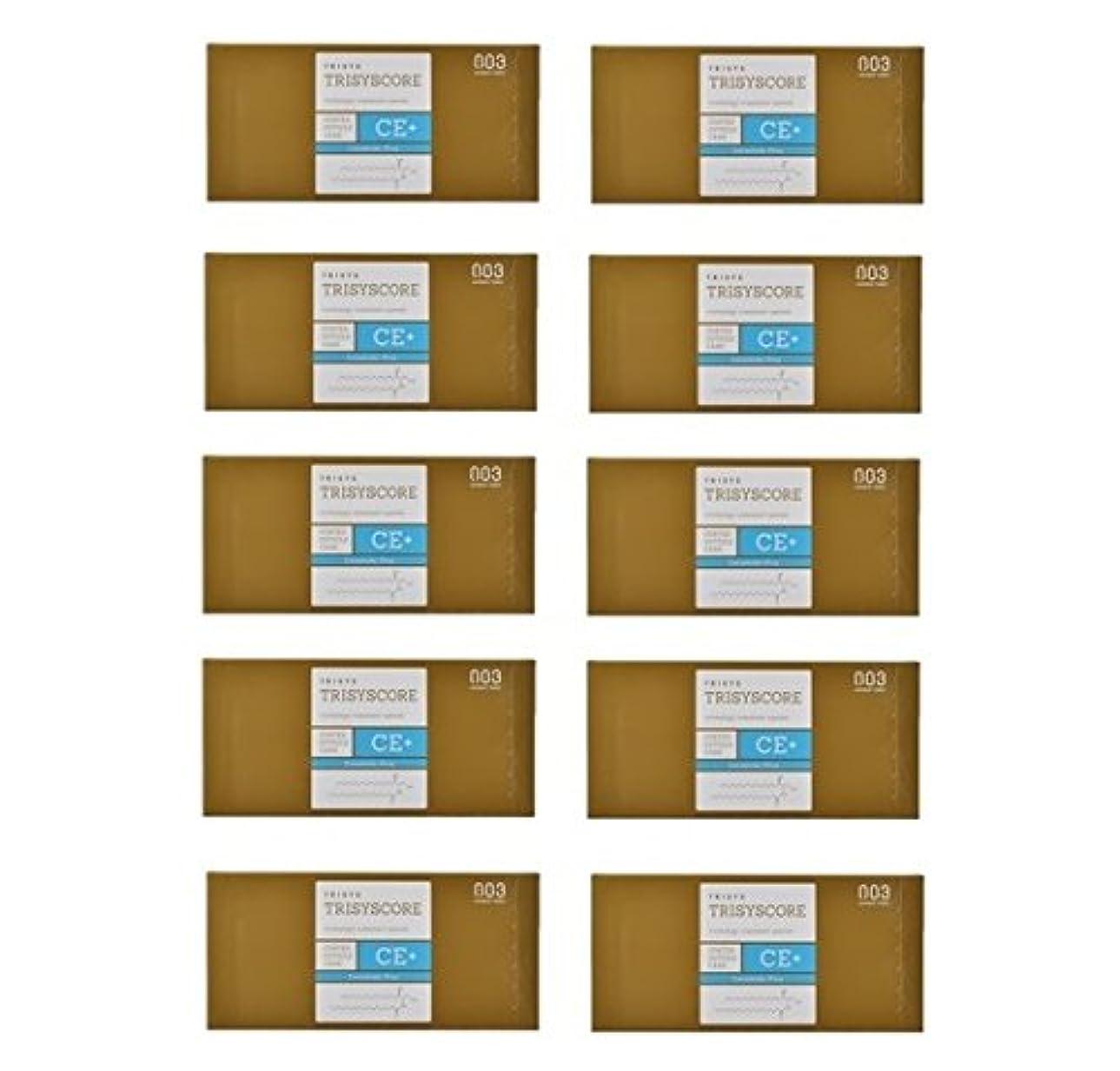 政権強打副【X10個セット】ナンバースリー トリシスコア CEプラス (ヘアトリートメント) 12g × 4包入り