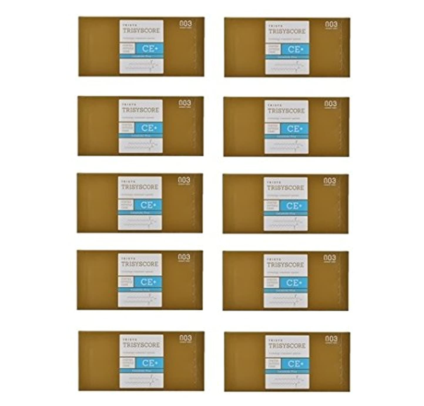一月換気たまに【X10個セット】ナンバースリー トリシスコア CEプラス (ヘアトリートメント) 12g × 4包入り
