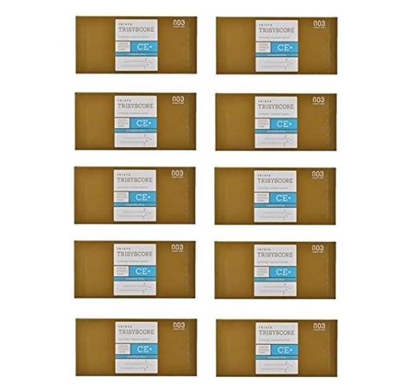 化粧揮発性前件【X10個セット】ナンバースリー トリシスコア CEプラス (ヘアトリートメント) 12g × 4包入り
