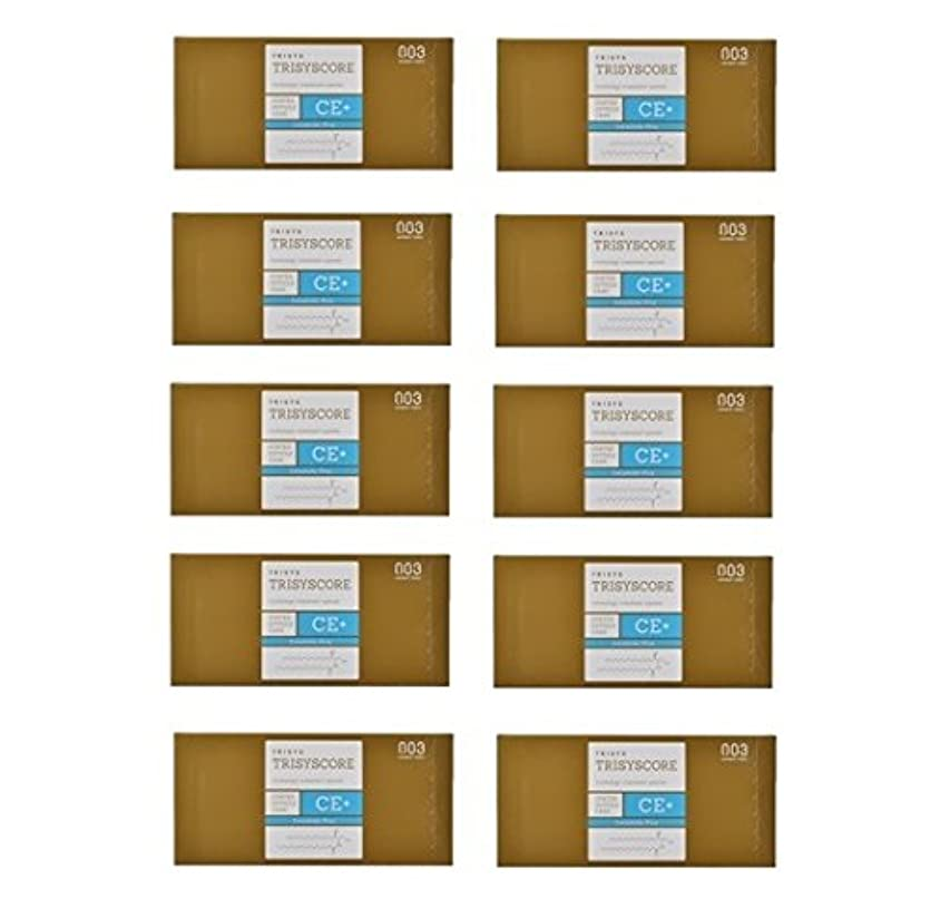 遺伝子回転ギャング【X10個セット】ナンバースリー トリシスコア CEプラス (ヘアトリートメント) 12g × 4包入り