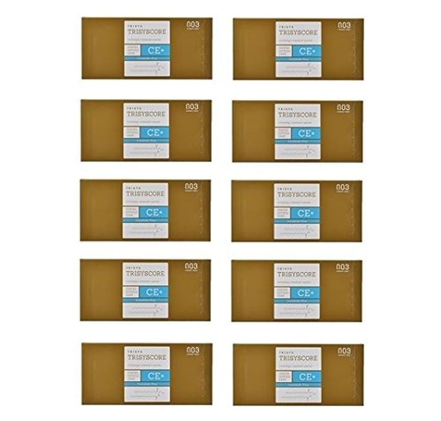 富豪割る木材【X10個セット】ナンバースリー トリシスコア CEプラス (ヘアトリートメント) 12g × 4包入り