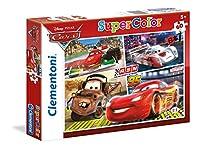 "Clementoni "" Cars ""パズル( 60ピース) 12.00 x 8.07"" 26953"