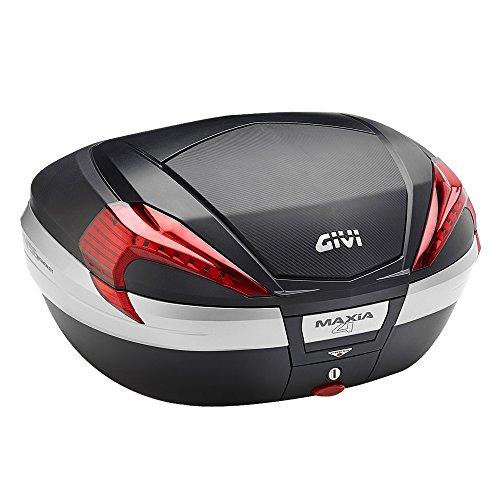 GIVI(ジビ)【イタリアブランド】 バイクモノキートップケース/リアボックス(V56NN) 容量56L 未塗装ブラック カーボン調パネル 92356 高性能&スタイリッシュデザイン