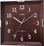 CITIZEN インテリア モダン 木枠 電波 掛時計 シンプルモードカレン 8MYA15-006 8MYA15-006