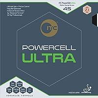 アイティーシー(ITC) 卓球 ラバー パワーセル ウルトラ 45 AX002 ブラック(AB) 2.1