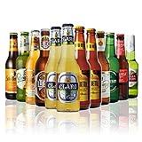 世界のビール12本飲み比べギフトセット 夏季限定ビール+夏に美味しいビール入り!スペイン・ドイツ・ベルギーなどビール本場より大集結!全種類の商品説明がわかるビールリスト付 (6弾)