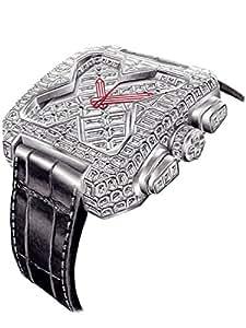 [ブチアーニ] BIG SQUARE WHITE GOLD FULL DIAMOND TOURBILLON ビッグスクエア 18Kホワイトゴールド フルダイヤモンド 25カラット トゥールビヨン スイス高級腕時計 日本正規代理店 [正規輸入品]