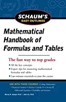 Schaum's Easy Outline of Mathematical Handbook of Formulas and Tables Revised Edition (Schaum's Easy Outlines)【洋書】 [並行輸入品]