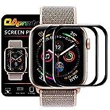【ガイド枠付き/剥がれ防止】OAproda Apple Watch Series 5 / 4 保護フィルム 40mm 2枚セット エッジ加工 2018/2019新型