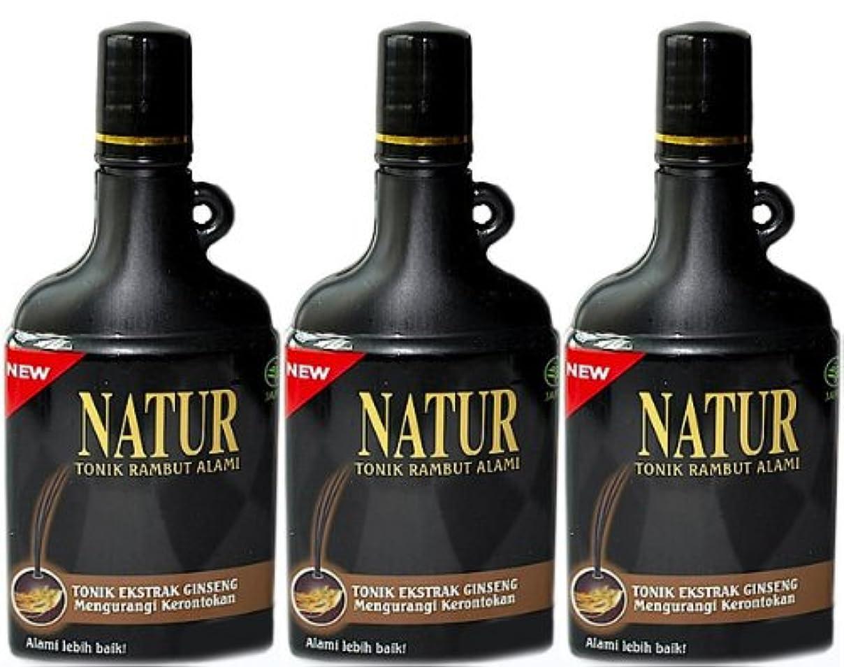 アセンブリ呼吸麦芽NATUR(ナトゥール) トニック 125ml 3本セット [並行輸入品][海外直送品]