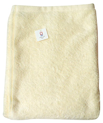 今治産タオルケット お昼寝ケット(イエロー)【安心・良品】日本製 子供用 マイヤー織り ハーフケット