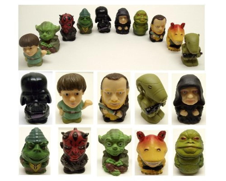 Star Wars 10 Piece Toy Bath Play Set Featuring Darth Vador, Darth Maul, Luke Skywalker, and Yoda by Star Wars [並行輸入品]