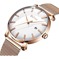 Men Watches 2018 Luxury Brand Fashion Quartz Wristwatches Steel Mesh Strap Relogio Masculino Clocks Man Business