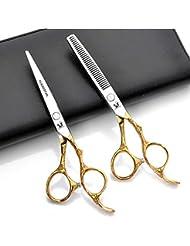 6インチのヘアカットはさみ、プロの美容安全はさみ、ステンレス鋼440 C高級素材理髪はさみ
