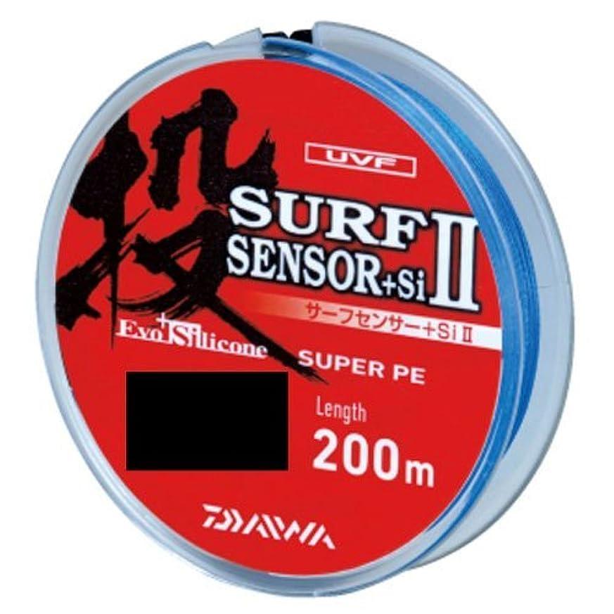 考えたワイヤー穿孔するダイワ(Daiwa) PEライン UVF サーフセンサー+Si II 200m 1.2号 マルチカラー
