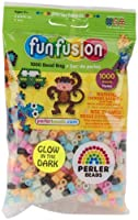 Perler Fun Fushionビーズ1000/ pkg-glow in the Dark Perler Fun Fushionビーズ1000/ pkg-glow in the Da