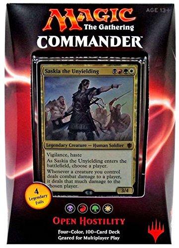 [マジックギャザリング]Magic: the Gathering Commander 2016 MTG Magic The Gathering random Deck 100 cards WTCB67960000 [並行輸入品]