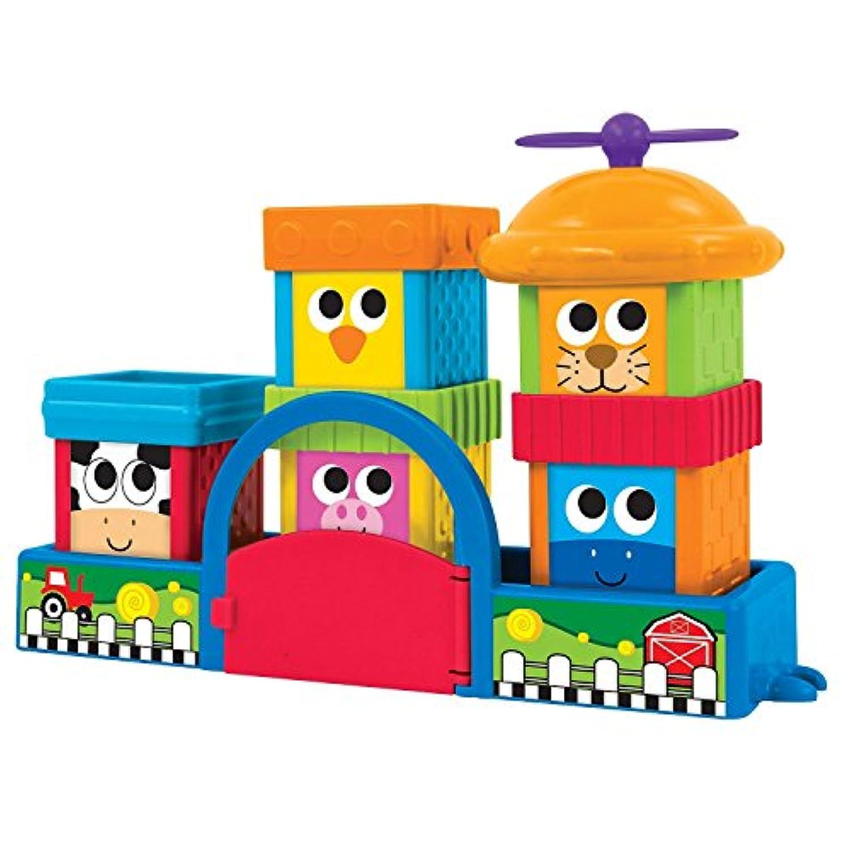 Sassy Block Set, Farmyard Friends [並行輸入品]