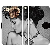 Galaxy S7 edge SC-02H SCV33 手帳型 ケース カバー モノトーン mod19 ブレインズ モノクロ 白黒 セクシー sexy ファッション