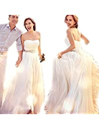 ec123c1666dcf  ノーブランド品  ウェディングドレス ブライズメイド ドレス 女性 レディース 女の子 ロングドレス ベア