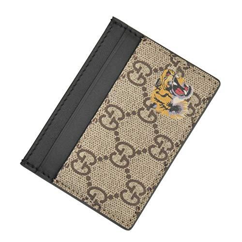 (グッチ) Gucci DIONYSUS ディオニュソス メンズ タイガープリント カードケース ベージュブラウン系 [並行輸入品]