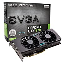 EVGA 04G-P4-3978-KR NVIDIA GeForce GTX 970 4GB graphics card