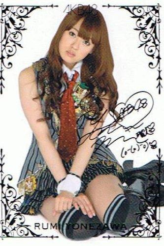 【AKB48 トレーディングコレクション】 米沢瑠美 箔押しサインカード akb48-r162 -