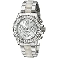 Invicta Women's 18867 Angel Analog Display Swiss Quartz Two Tone Watch