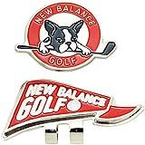 ニューバランス New Balance ラウンド小物 METRO フラッグ×ボストンテリアクリップマーカー 012-7984502 レッド 100