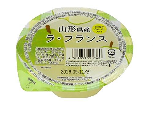 谷尾食糧 国産果実山形県産ラ・フランスジュレ 127g×12個