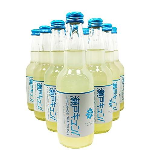 瀬戸キュン(セトキュン)! レモネードスパークリング 330ml スクリューキャップ瓶 ×10本セット