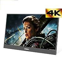 4K モバイルモニター13.3インチ モバイルディスプレイ HDMI/Type-C/スピーカー内蔵 FHD 3200 x1800 PCモニター サブモニター ゲーミングモニタ セキュリティーモニター