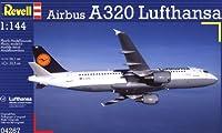 ドイツレベル 1/144 エアバス A320 ルフトハンザ 04267 プラモデル