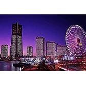 四季の詩 1000ピース みなとみらい夜景 (神奈川) (50cm×75cm、対応パネルNo.10)