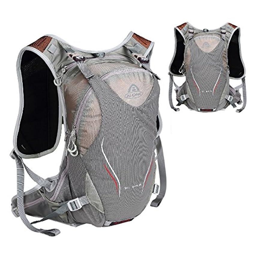 不完全欠員コミットTRIWONDER ハイドレーションパック バッグ ランニング バッグ ベスト マラソン 自転車 バックパック