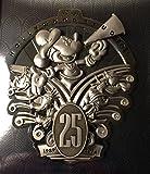 ディズニーランド 25周年記念 ハリウッドスタジオ ミッキーマウス ジャンボ ピン 限定品 [並行輸入品]